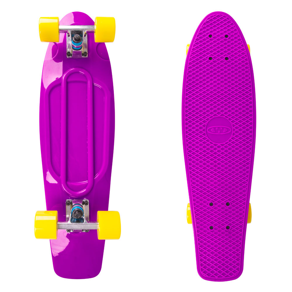 "Penny board WORKER Blace 27"" fialová"