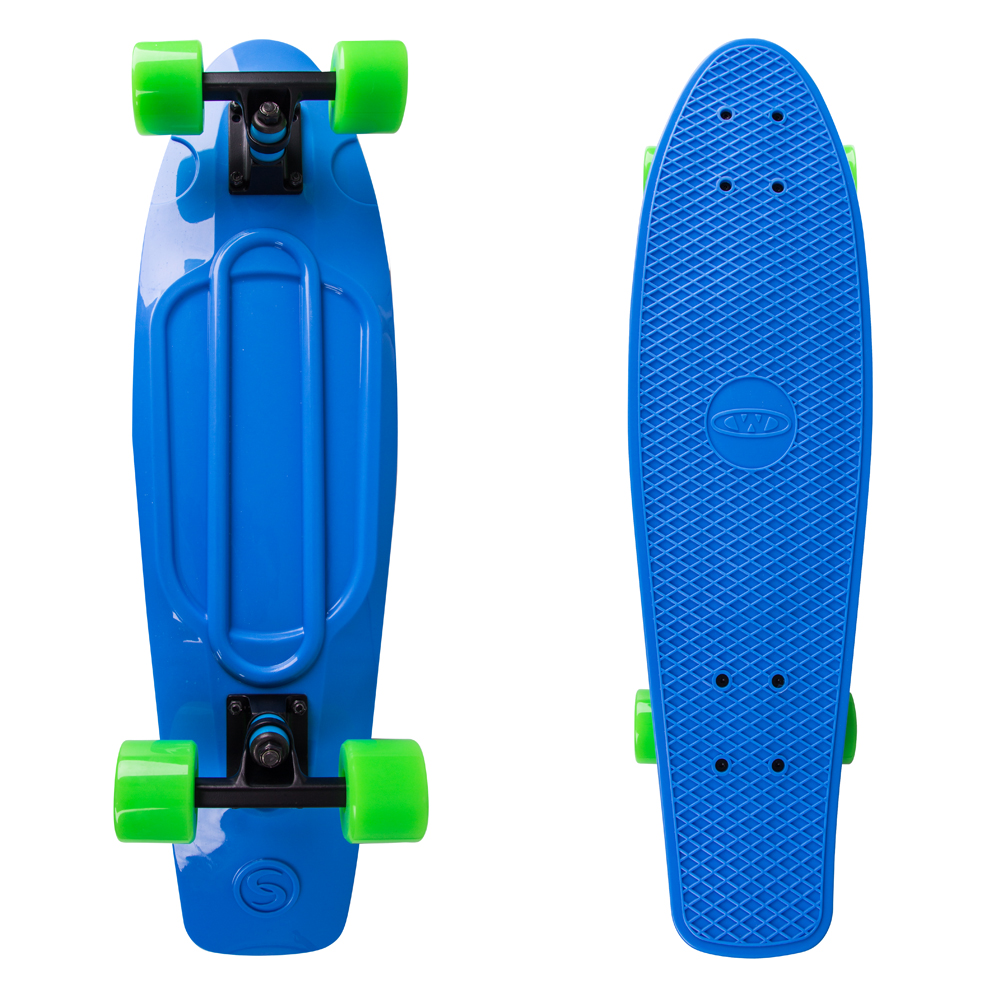 "Penny board WORKER Blace 27"" modrá"