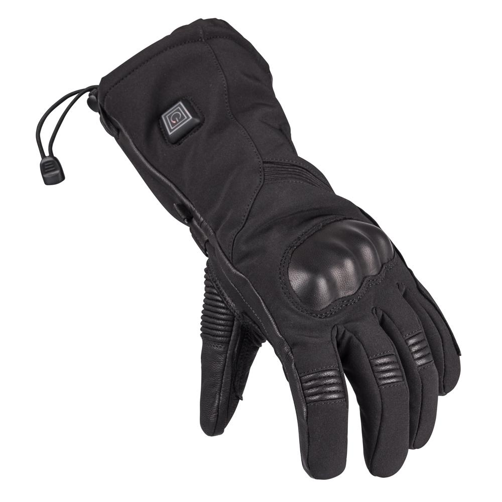 Vyhřívané lyžařské a moto rukavice Glovii GS7 černá - L