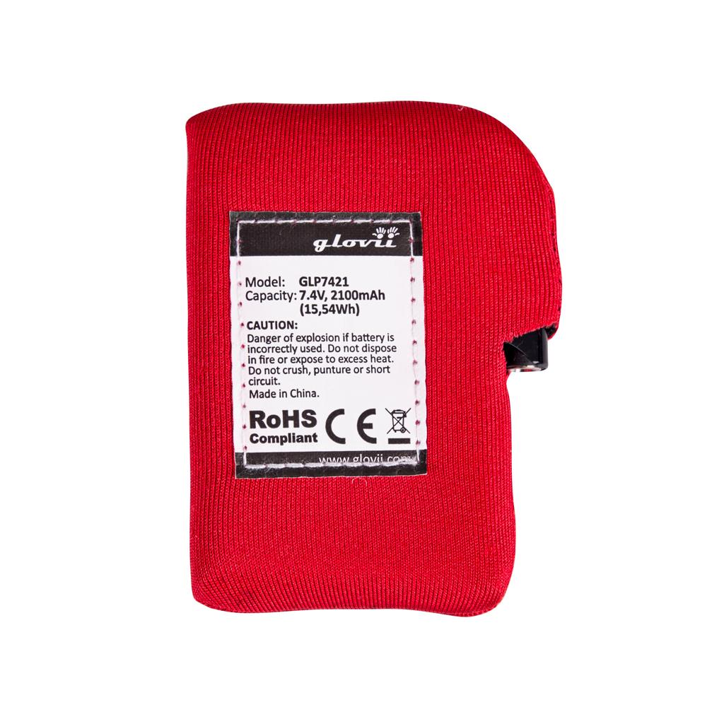 Náhradní baterie pro vyhřívané rukavice a čepice Glovii GLP7421
