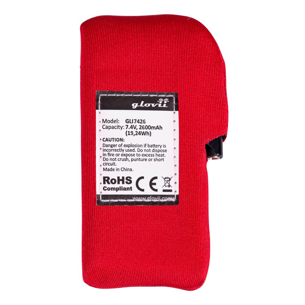 Náhradní baterie pro vyhřívaná trička a kalhoty Glovii GLI7426 afc828114d