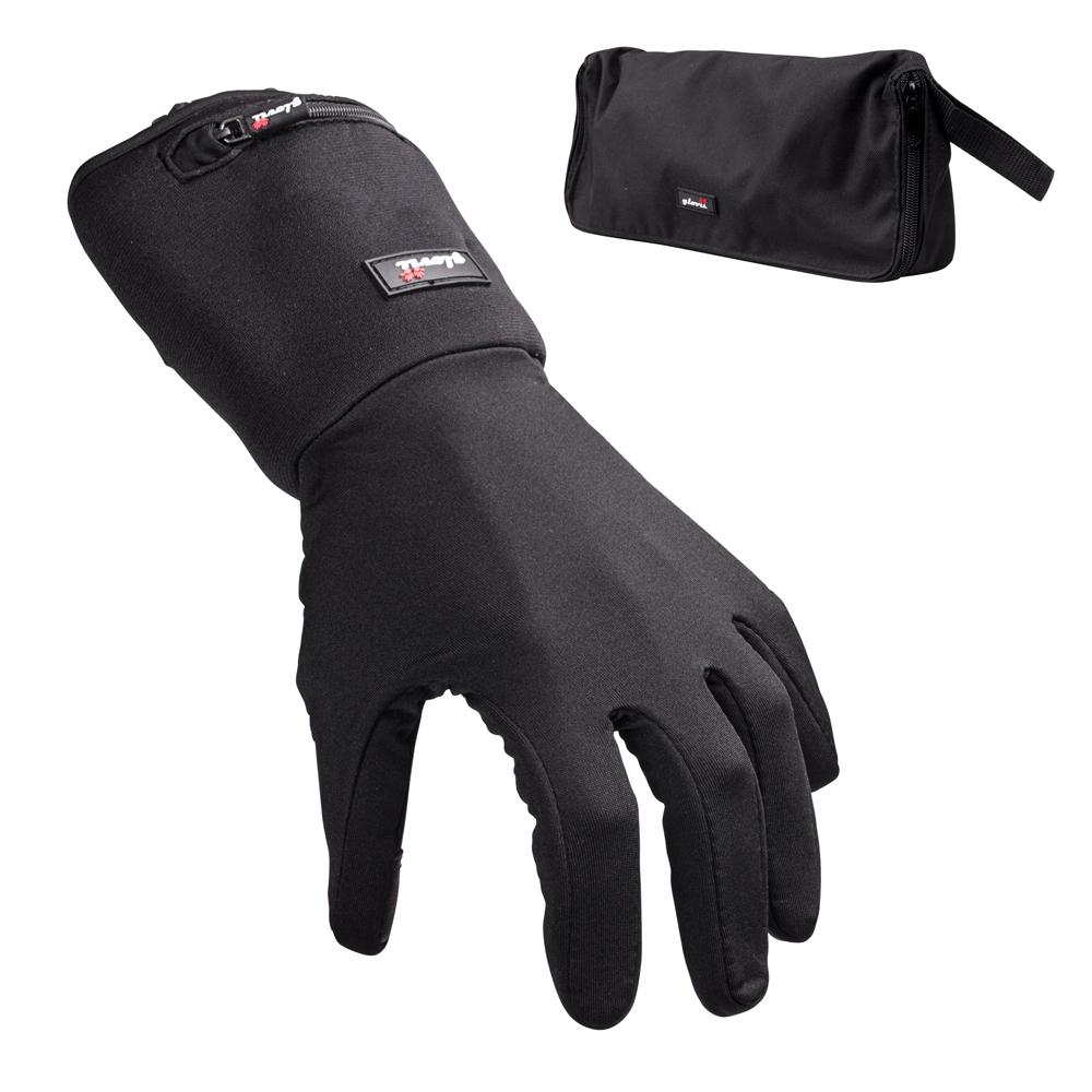 Univerzální vyhřívané rukavice Glovii GL2 černá - XXS-XS