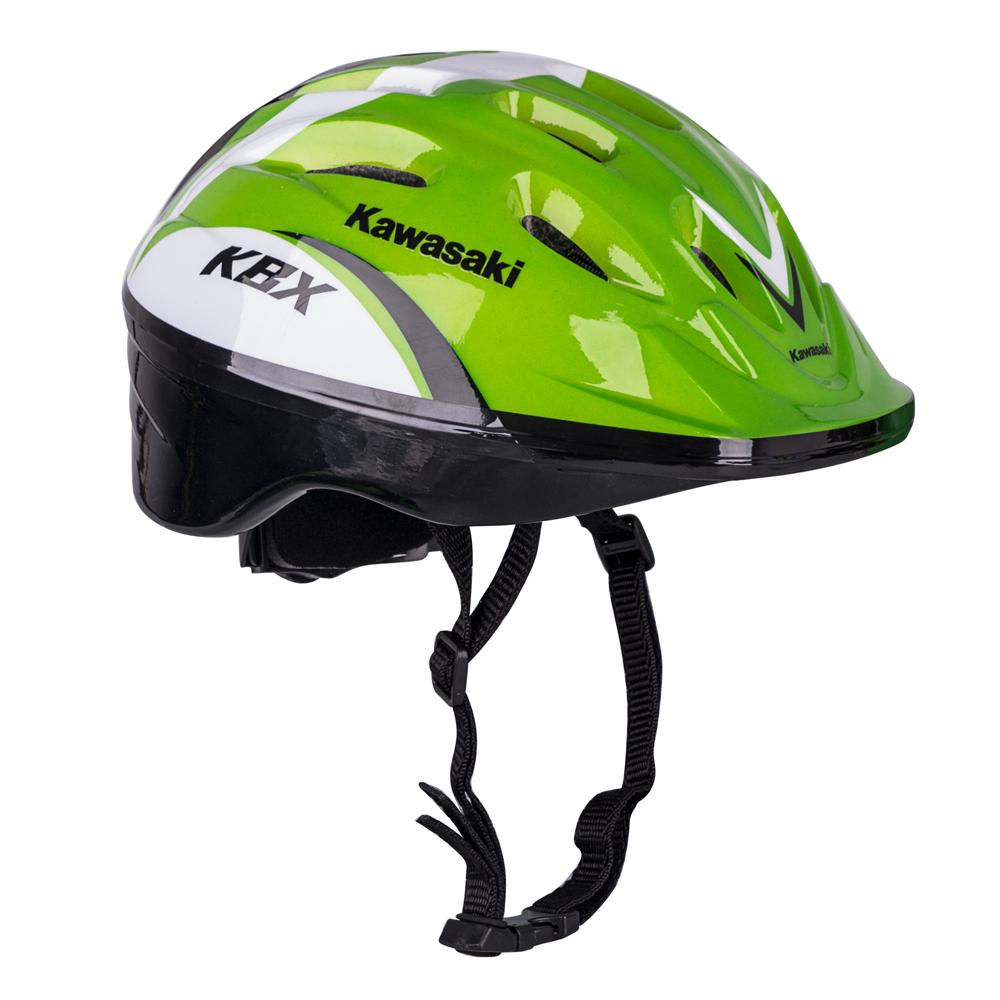 Cyklo přilba Kawasaki Shikuro zelená - S (48-50)