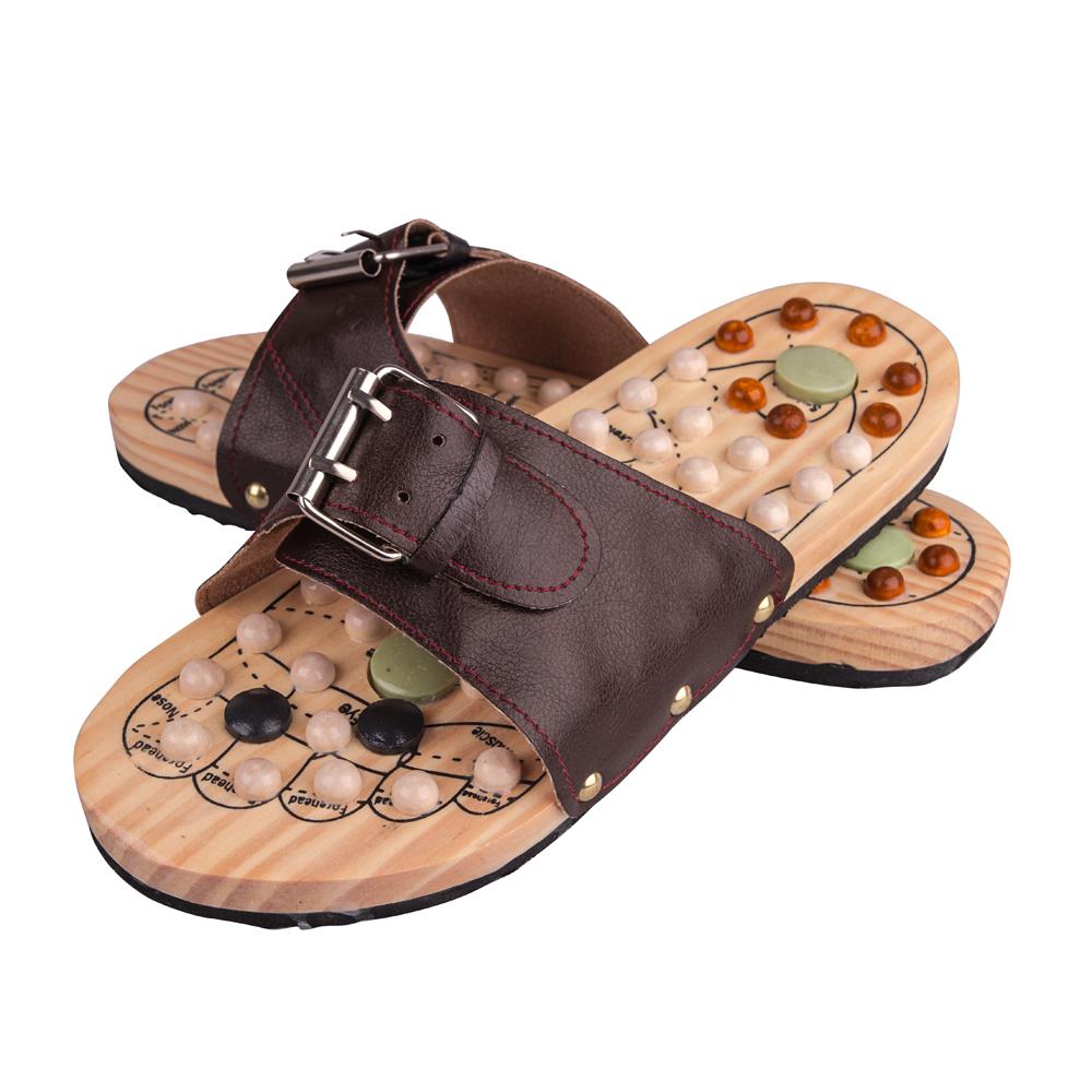 Masážní pantofle inSPORTline Klabaka s magnety 38