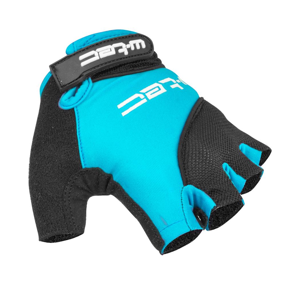 Cyklo rukavice W-TEC Sanmala AMC-1023-22 modro-černá - XS