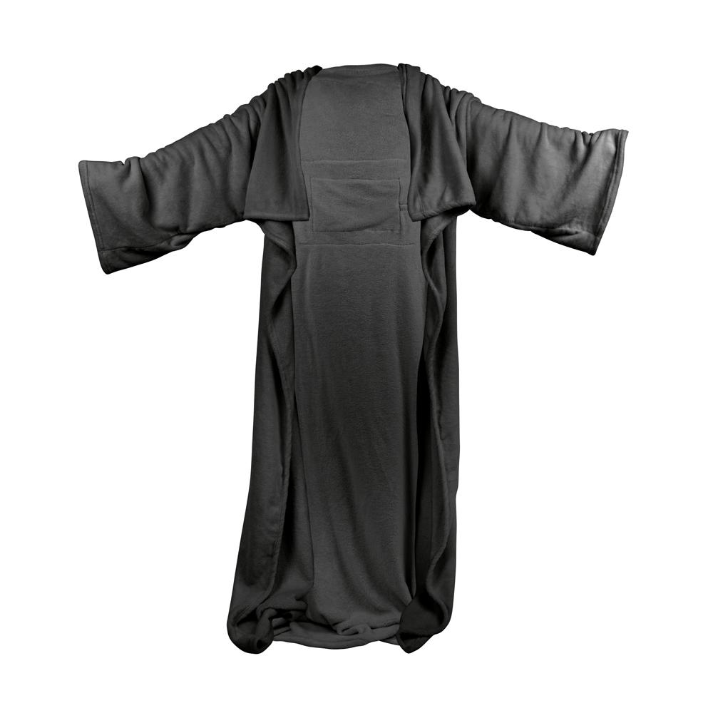 Vyhřívaná deka s rukávy inSPORTline Wearm černá