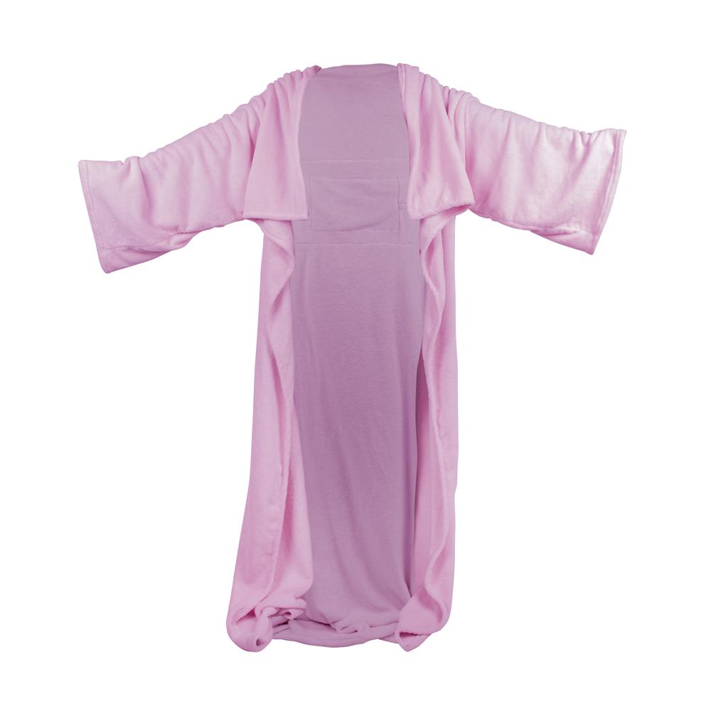 Vyhřívaná deka s rukávy inSPORTline Wearm růžová