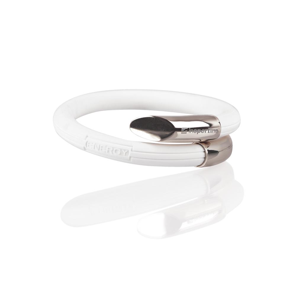 Magnetický náramek inSPORTline Livis stříbrná