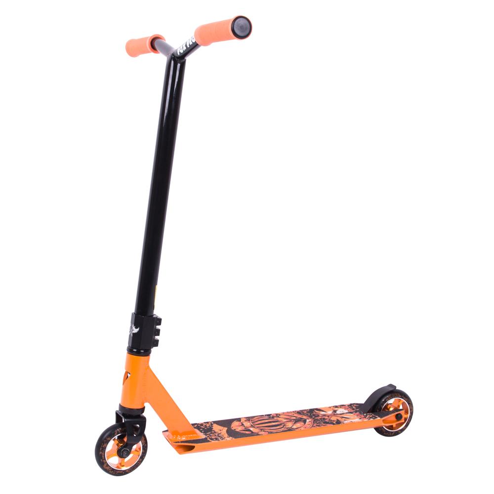Koloběžka Fox Pro Raw-02 oranžová