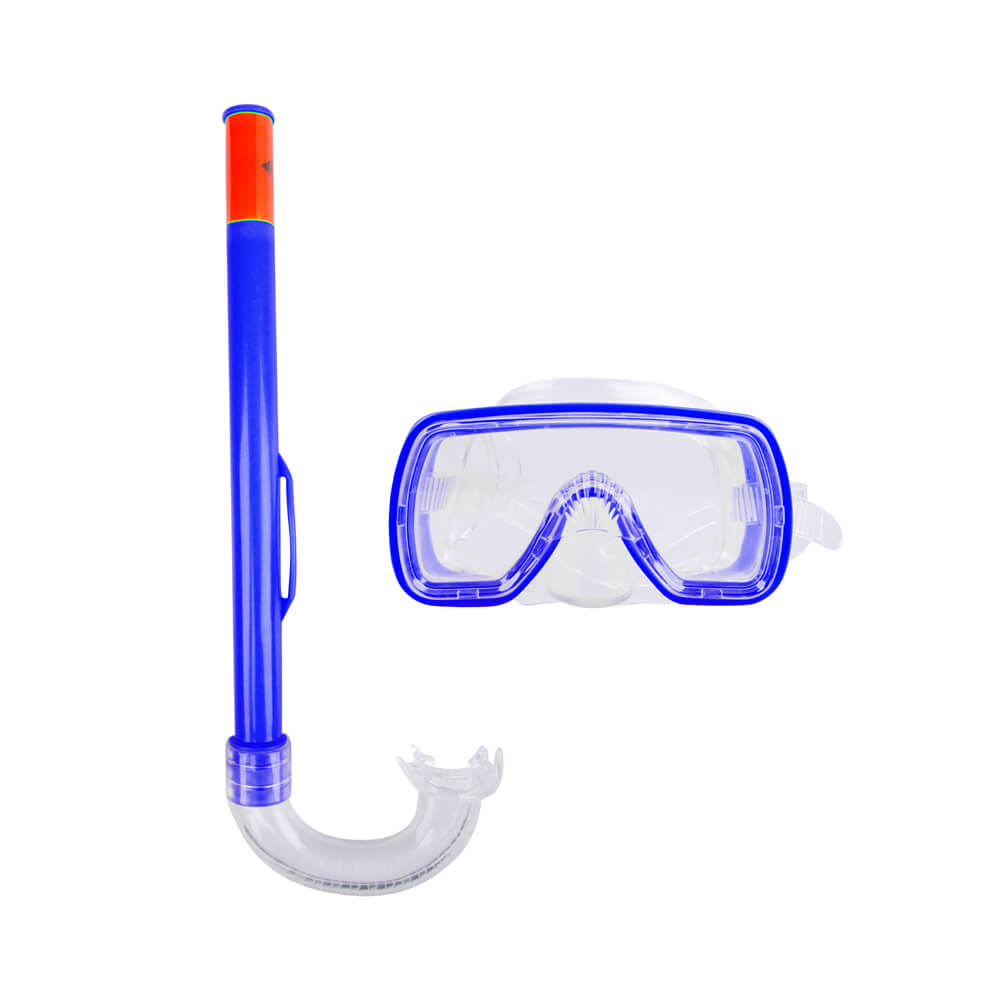 Sada na potápění Escubia Fun Set JR modrá