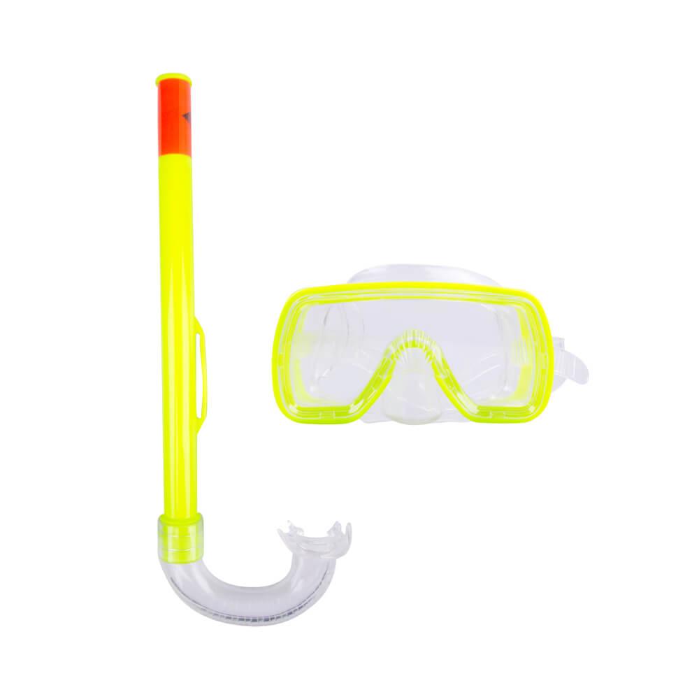 Sada na potápění Escubia Fun Set JR žlutá