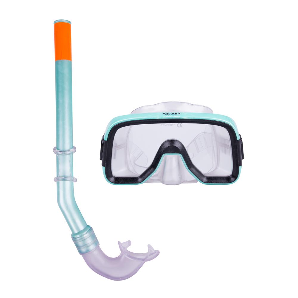 Sada na potápění Francis Zenit Set SR zelená