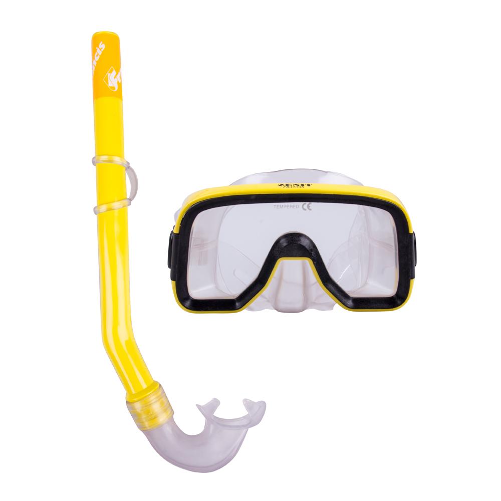 Sada na potápění Francis Zenit Set SR žlutá