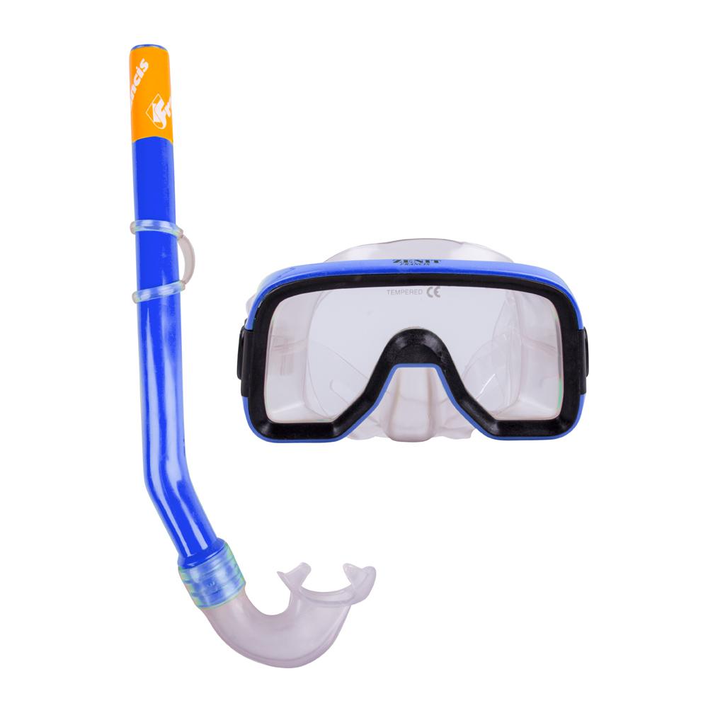 Sada na potápění Francis Zenit Set SR modrá