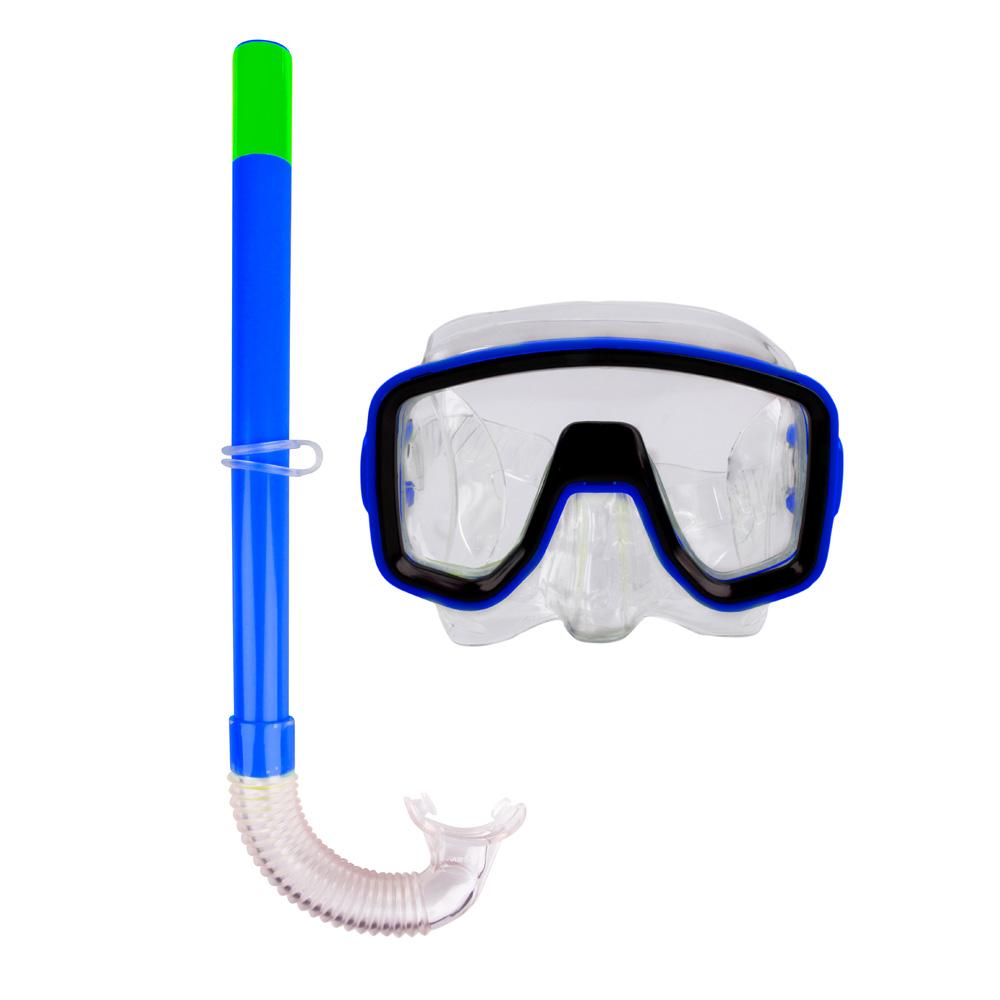 Sada na potápění Escubia Joker Set SR modrá