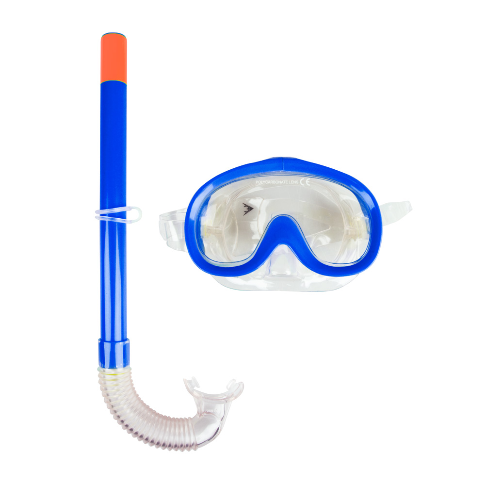 Sada na potápění Escubia Nemo Set JR modrá