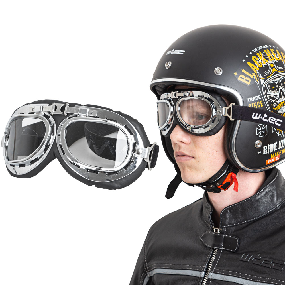 Moto brýle W-TEC Ageless