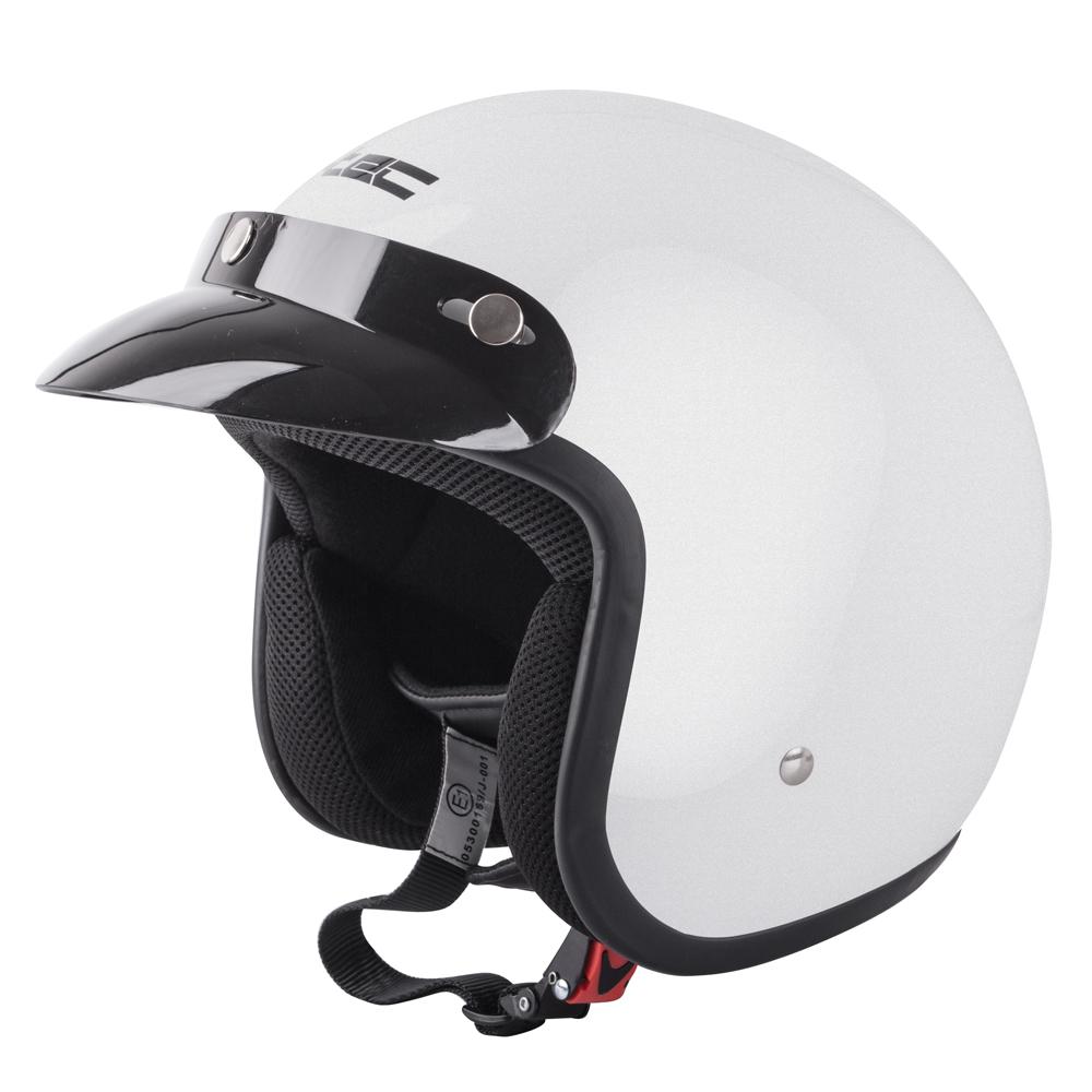 Moto přilba W-TEC AP-75 Pearl White - L (59-60)