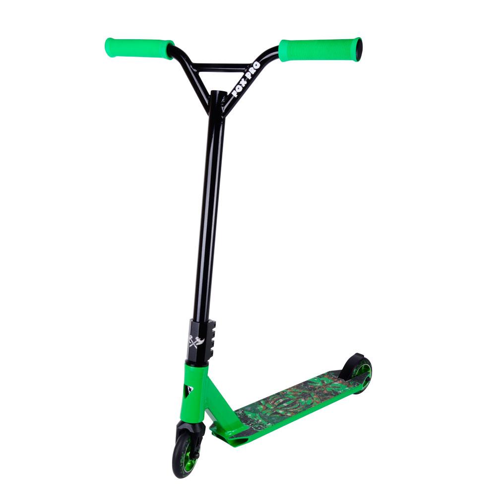 Koloběžka Fox Pro Raw-03 zelená