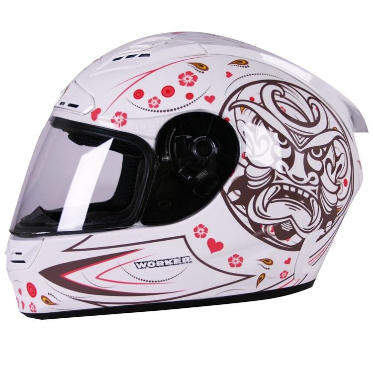 Moto helma WORKER V192 maska - L (59-60)