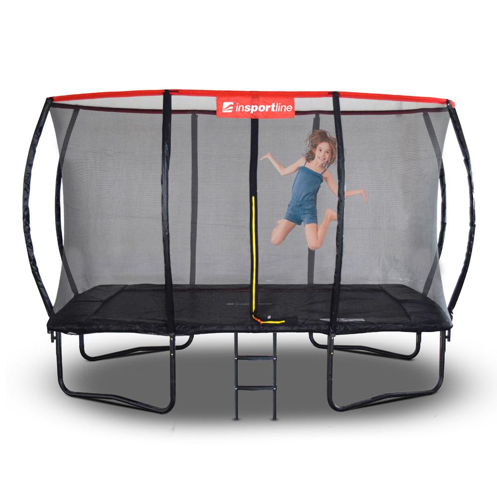 Obdelníkový trampolínový set inSPORTline QuadJump 183*274 cm