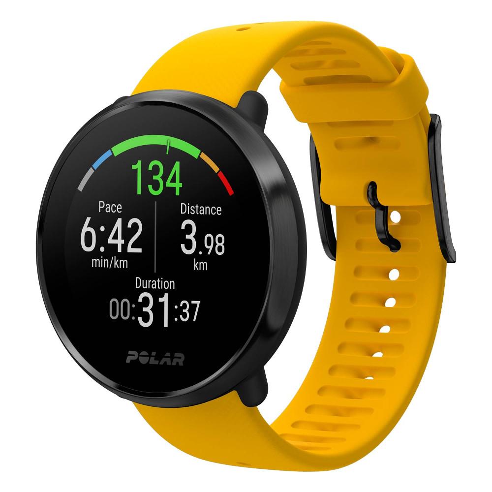 Sportovní hodinky POLAR Ignite žlutá M/L