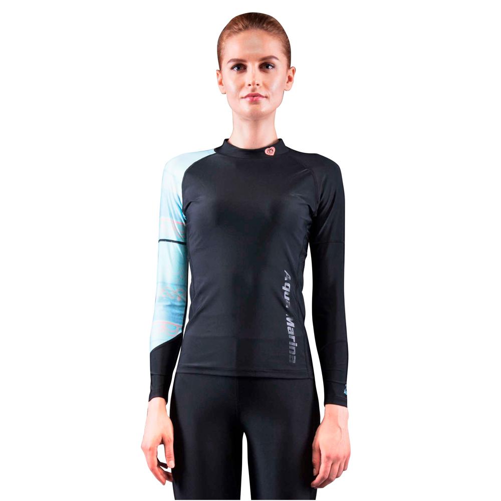 Dámské tričko pro vodní sporty Aqua Marina Illusion modrá - L