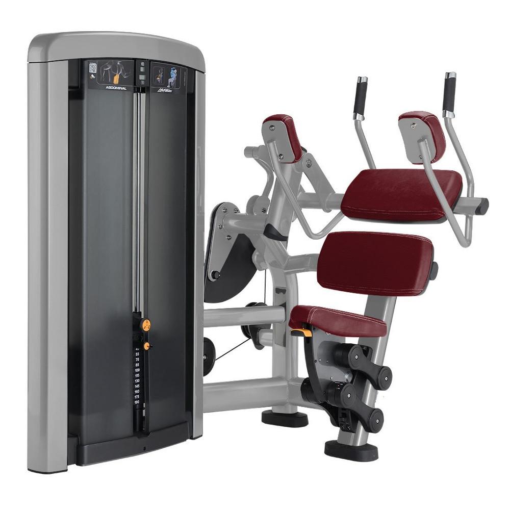 Posilovací stroj na břišní svaly Life Fitness Insignia Abdominal - Montáž zdarma + Servis u zákazníka