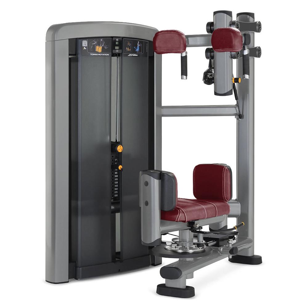 Posilovač břišních a zádových svalů Life Fitness Insignia Torso Rotation - Montáž zdarma + Servis u zákazníka