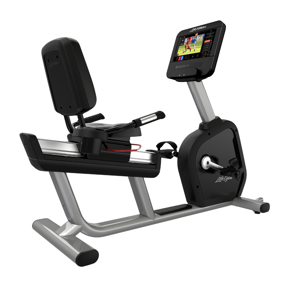Life Fitness Integrity S Base Discover ST recumbent