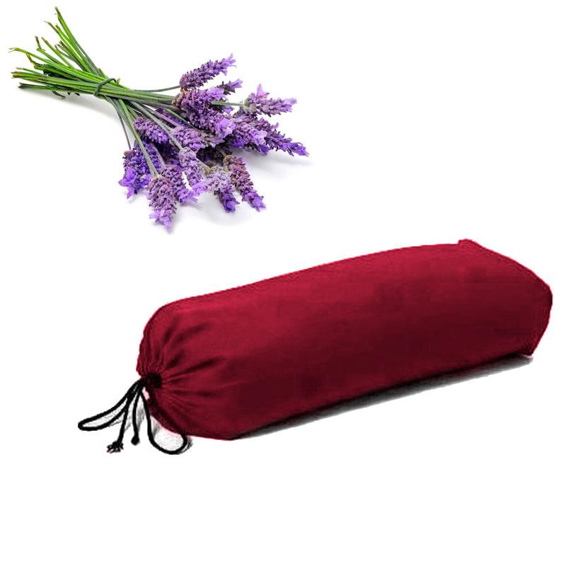 Jóga válec ZAFU Komfort s levandulí vínová