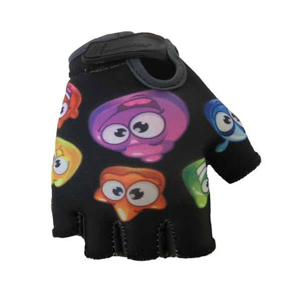 Dětské cyklo rukavice POLEDNIK Baby Želáci černá - 4