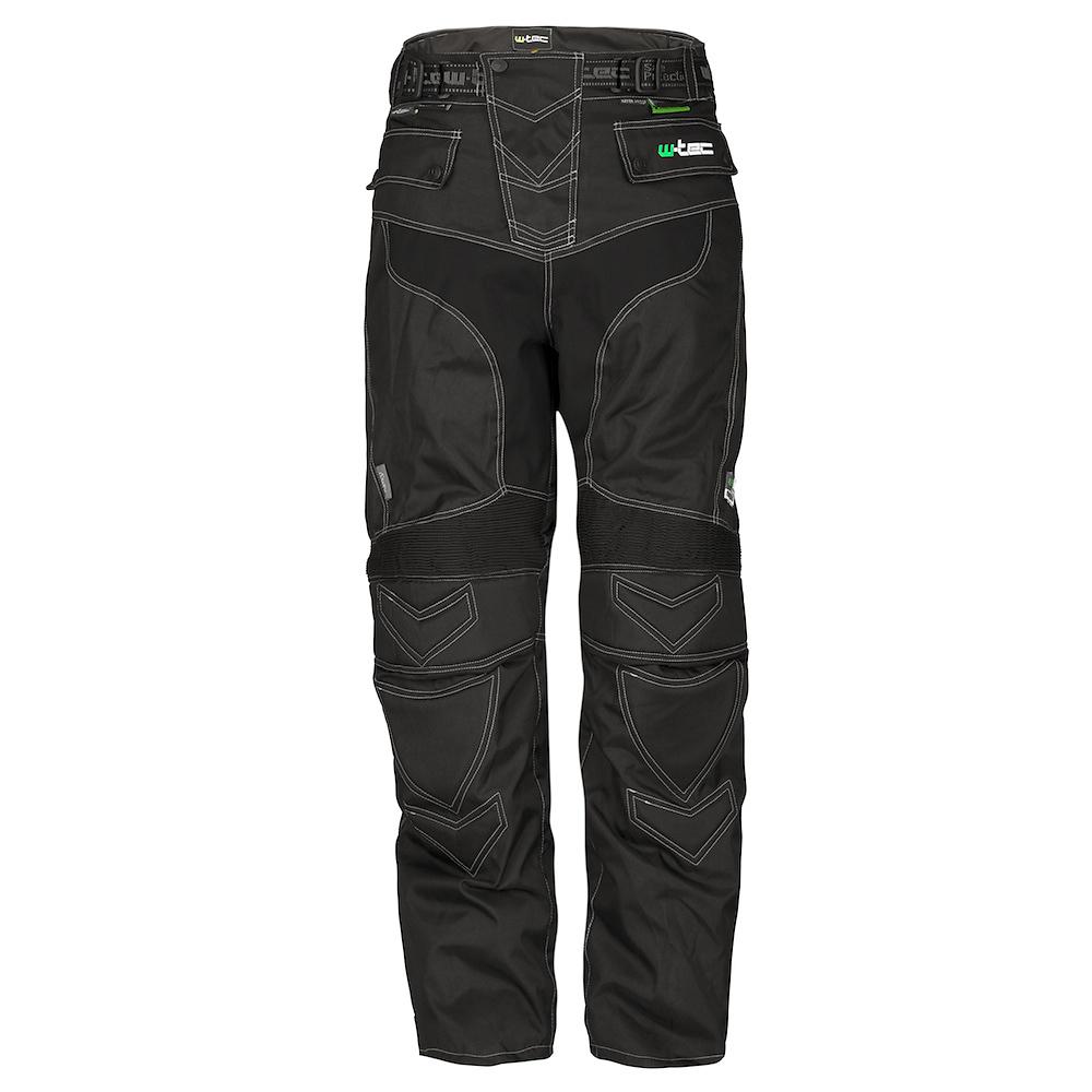 Moto kalhoty W-TEC POLTON TWG-00144 černá - S