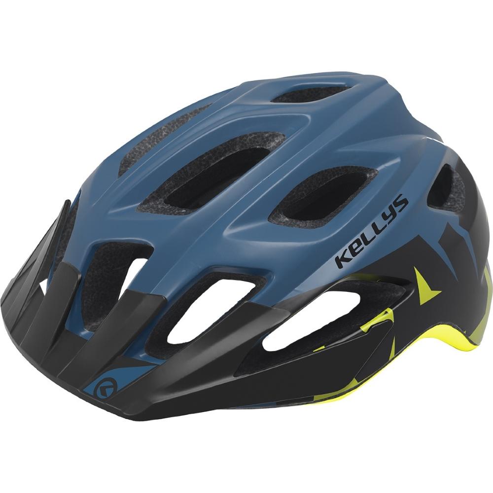 Cyklo přilba Kellys Rave modrá - S M (55-61) fdf25464c64
