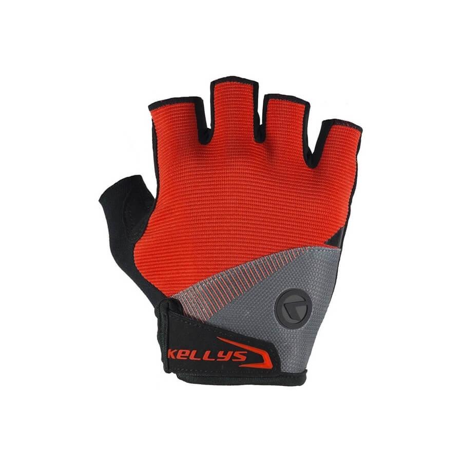 7d68b8a621 Cyklo rukavice KELLYS COMFORT 2018 červená - L