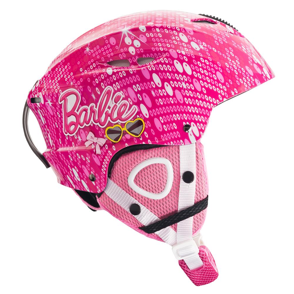 Dětská lyžařská přilba Vision One Barbie růžová - S (51-54)