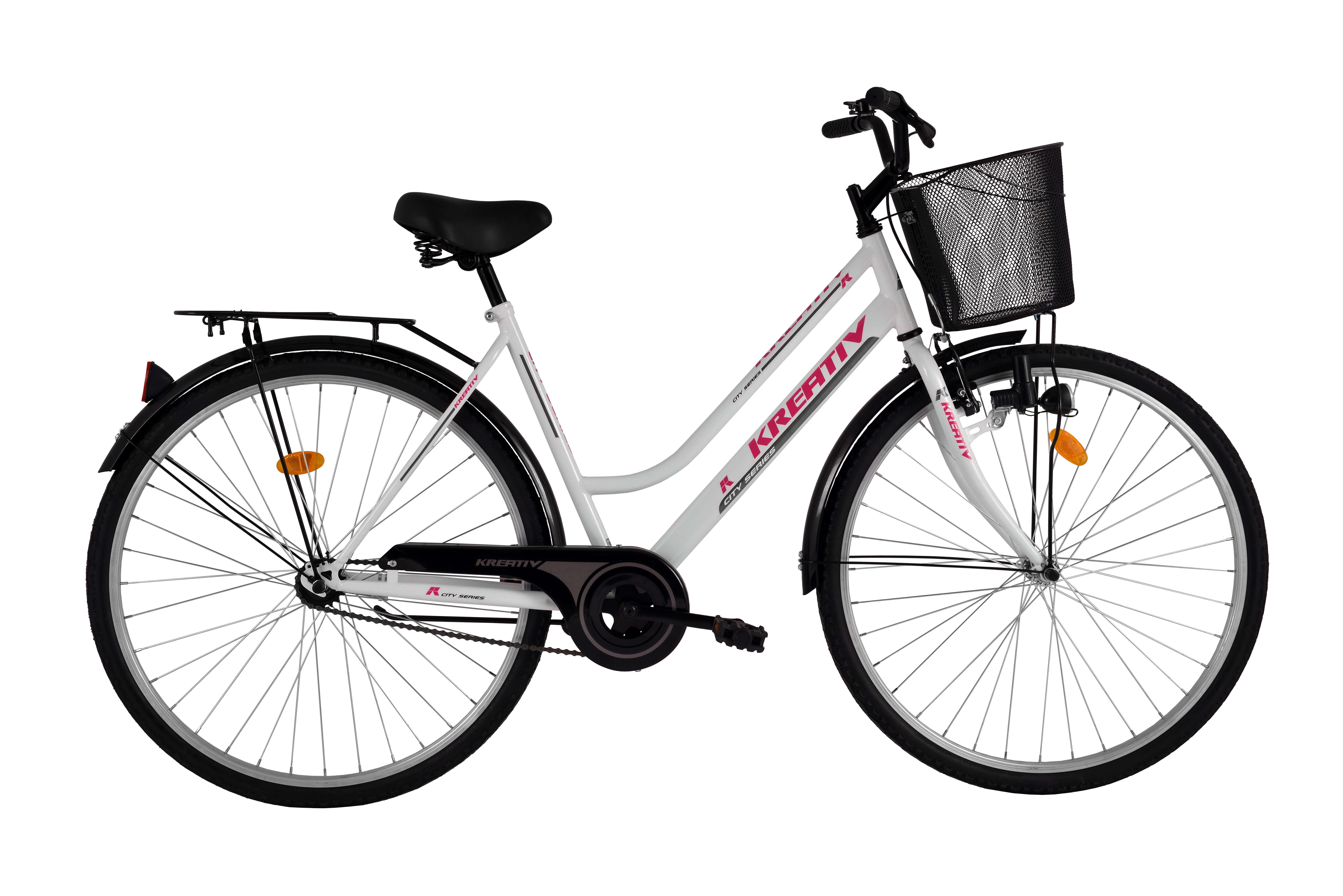 Dámské trekingové kolo Kreativ Comfort 2812 - model 2016 White - Záruka 10 let