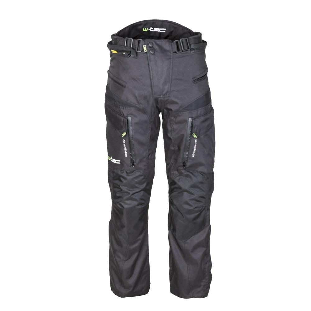 Pánské moto kalhoty W-TEC GS-1614 černá - M