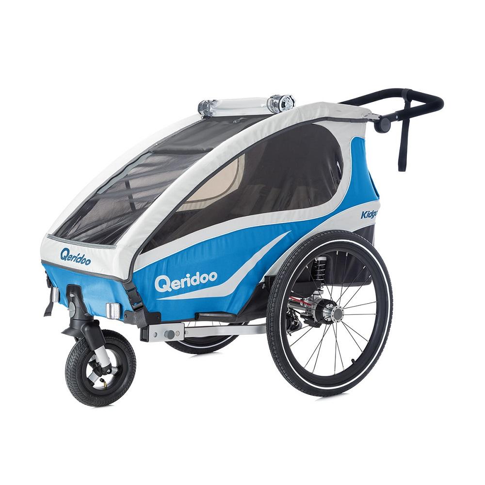 Multifunkční dětský vozík Qeridoo KidGoo 1 2019 modrá