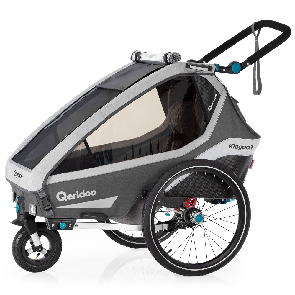 Qeridoo KidGoo 1 2020 Anthracite Grey