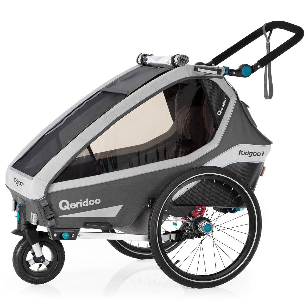 Multifunkční dětský vozík Qeridoo KidGoo 1 2020 Anthracite Grey