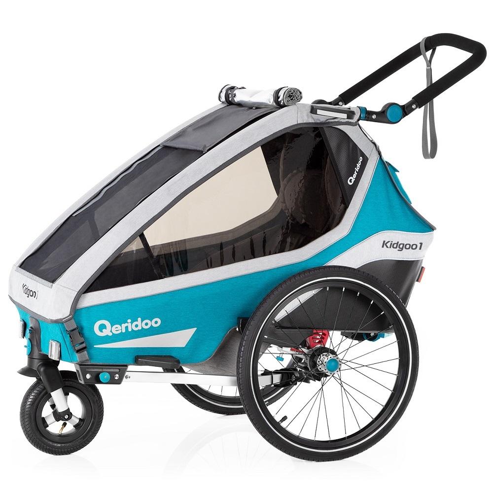 Multifunkční dětský vozík Qeridoo KidGoo 1 2020 Petrol Blue