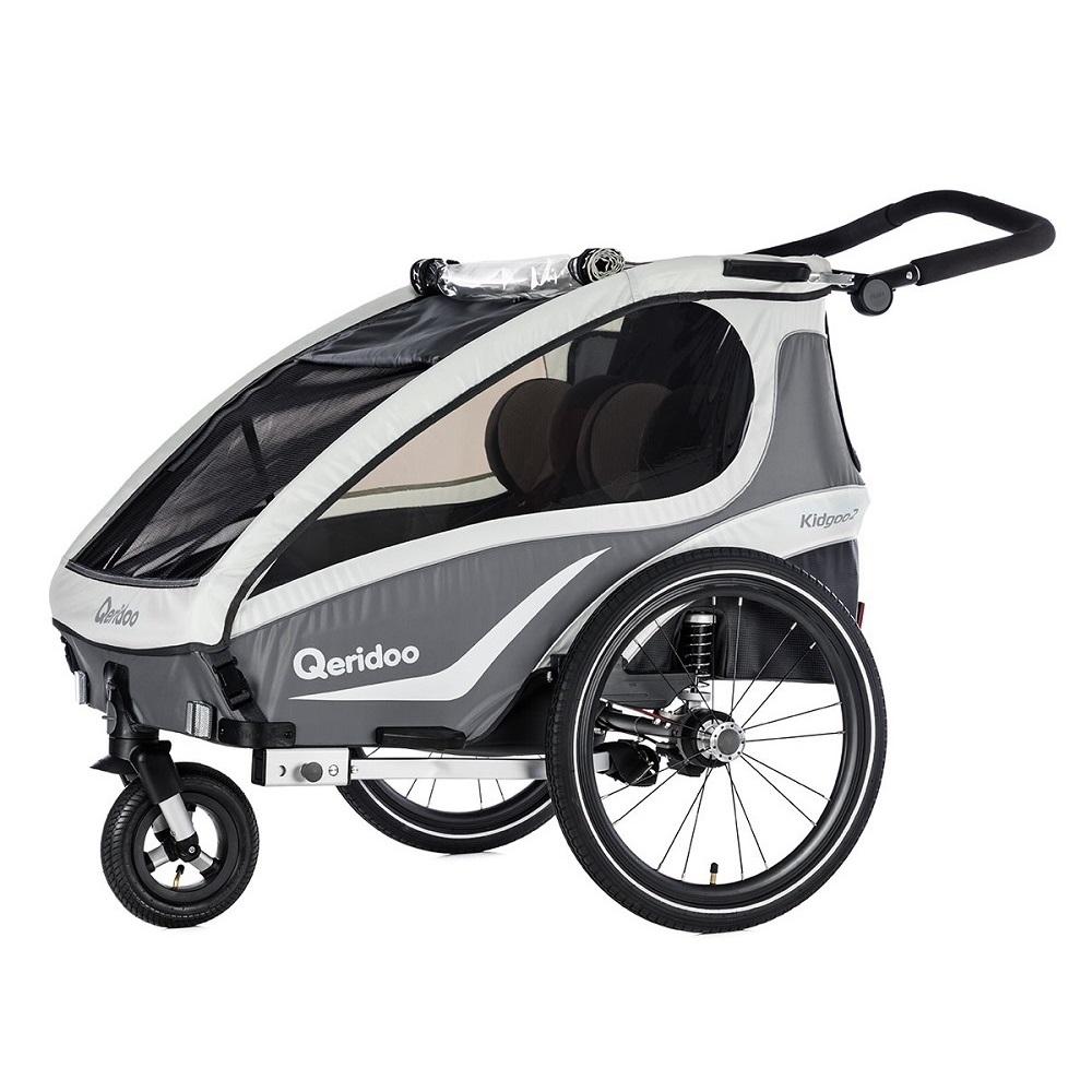 Multifunkční dětský vozík Qeridoo KidGoo 2 2018 antracit