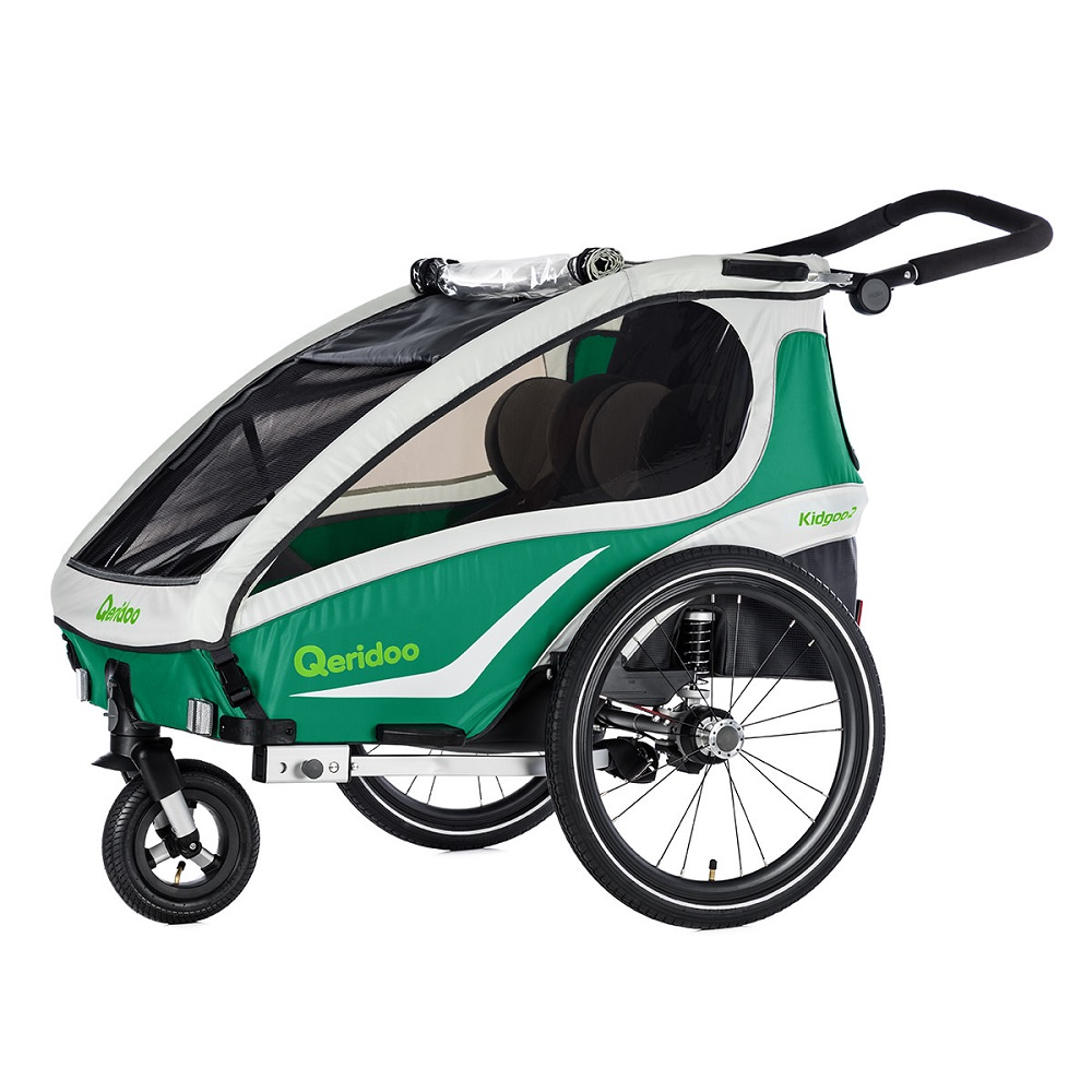 Multifunkční dětský vozík Qeridoo KidGoo 2 2019 zelená