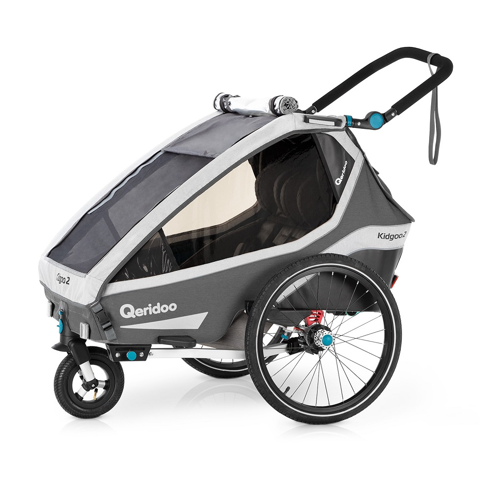 Qeridoo KidGoo 2 2020 Anthracite Grey