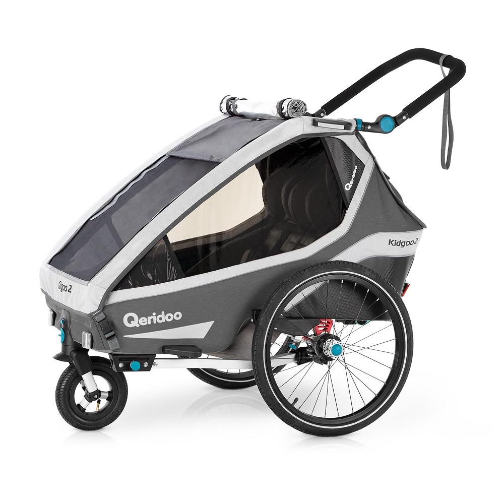 Multifunkční dětský vozík Qeridoo KidGoo 2 2020 Anthracite Grey
