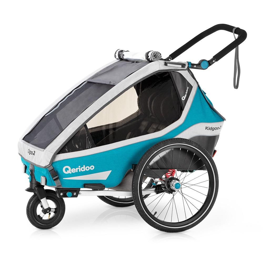 Multifunkční dětský vozík Qeridoo KidGoo 2 2020 Petrol Blue