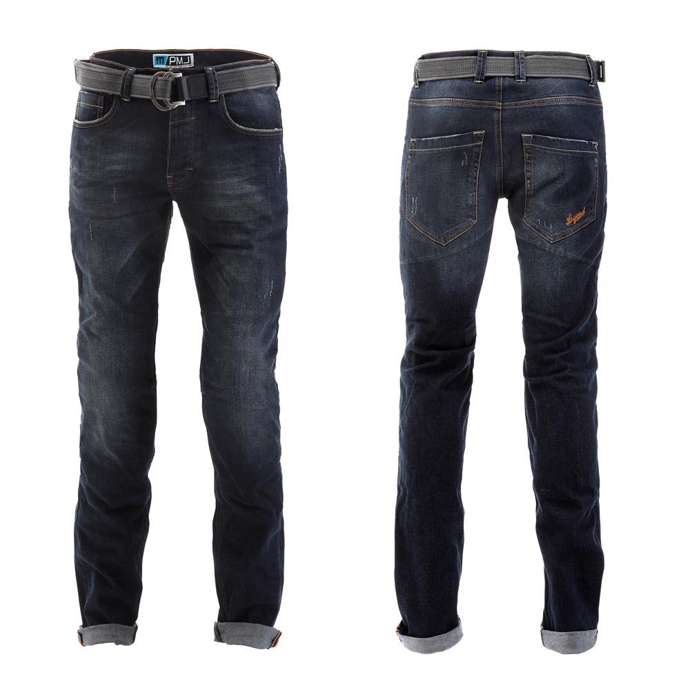 Pánské moto jeansy PMJ Legend Café Racer modrá - 38
