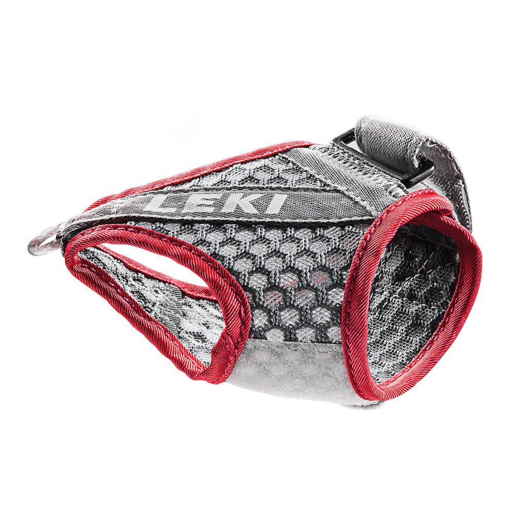Poutka Leki Shark Frame Strap Mesh Grey-Red - M/L/XL
