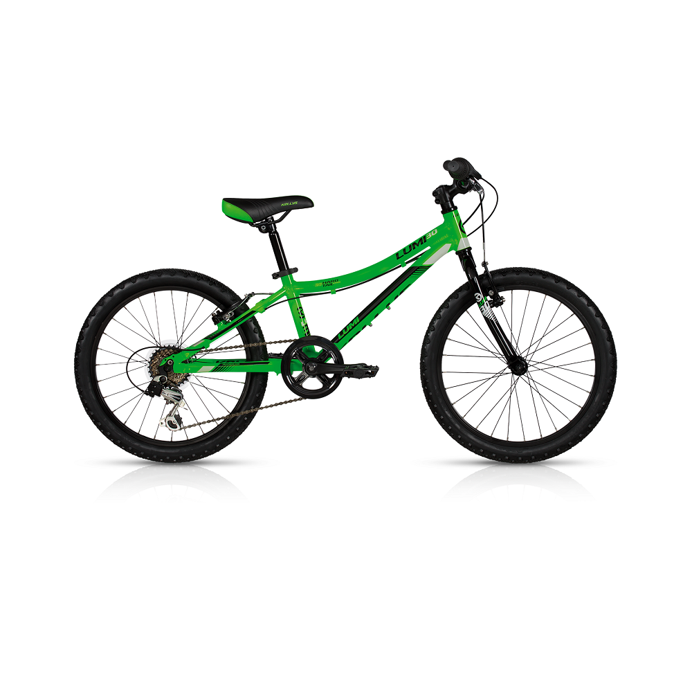 """Dětské kolo KELLYS LUMI 30 20"""" - model 2017 Green - 255 mm (10"""") - Záruka 5 let"""